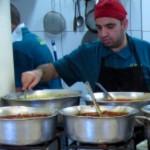 Homemade food in Jerusalem market