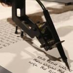 Berlin: Robot Writes Torah Scroll