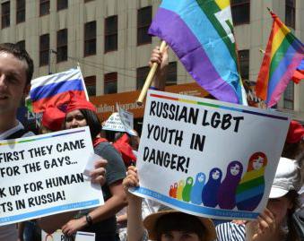 U.S. Jews Help Gay Russians