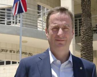 Openly gay British envoy in Israel