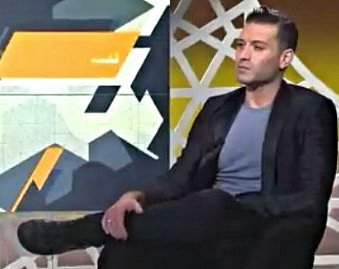 Omar Sharif Jr. Featured on Arabic TV