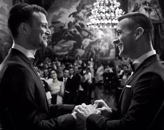 Gay Israeli TV host marries in shadow of Orlando shooting