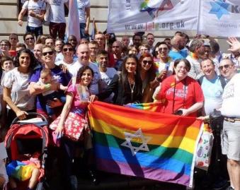 Largest Jewish Delegation Celebrates London Pride