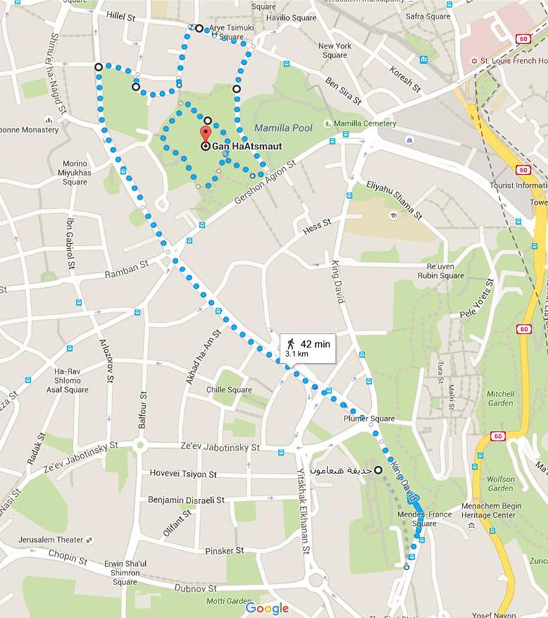 pride March route
