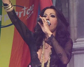 "Watch: Dana International Sings ""Hava Nagila"" At Antwerp Pride"