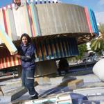 Tel Aviv takes down iconic fountain in Dizengoff Square