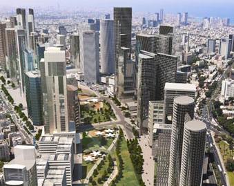 Tel Aviv skyline undergoing dramatic transformation