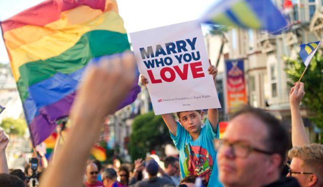 Democratic views on gay marraige