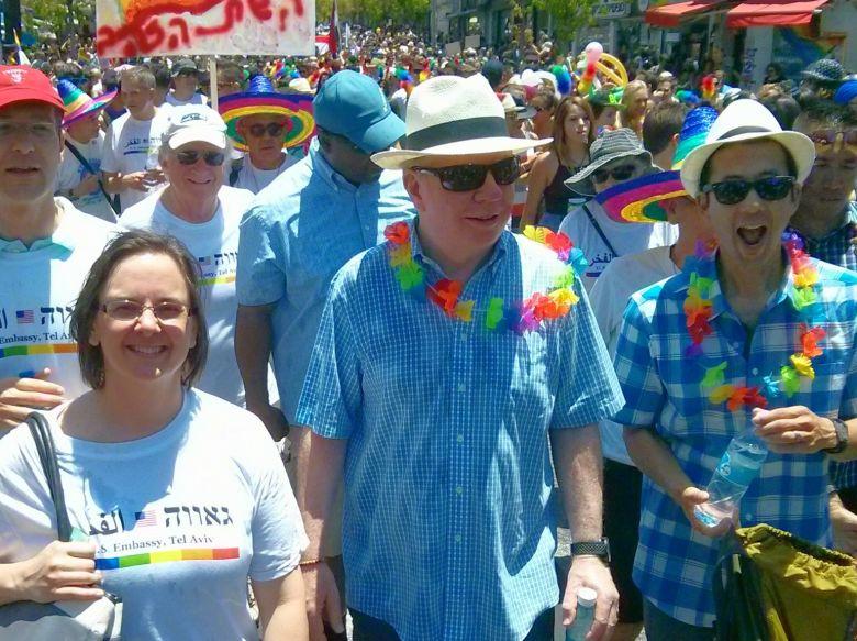 Mayor Ed Murray in Tel Aviv Gay Pride 2015