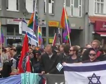 Berlin: LGBT People pro-Israel at Pride