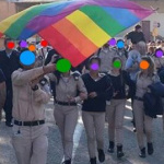 Spontaneous Pride in an Airforce Base