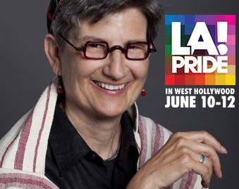 Rabbi Lisa to be Honored at LA Pride
