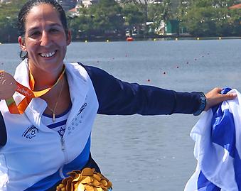 Lesbian Israeli Rower Wins Bronze in Rio 2016