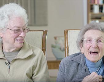Elderly Lesbian Couple in North Carolina