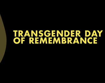 #TDoR: Transgender Day of Remembrance
