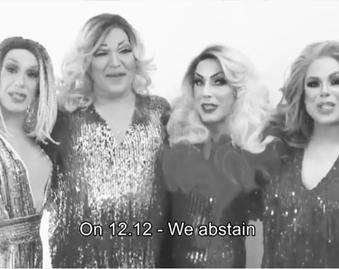 "On 12/12 Gay Men ""Abstain"""