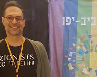 First Ever LGBT Booth in Annual Aliyah Fair