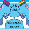 'Let it B:' Tel Aviv Reveals Official 2017 Gay Pride Artwork