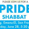 Pride Shabbat – Congregation Emanu-El, San Francisco